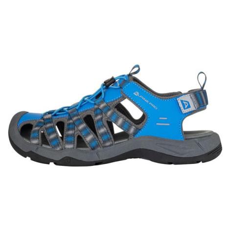 Lancaster 4 modrá letní sandály s reflexními prvky