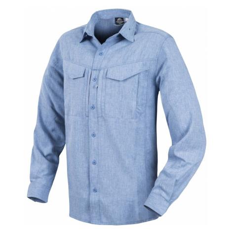 Košile s dlouhým rukávem Helikon-Tex® Defender Mk2 Gentleman - Melange Light Blue
