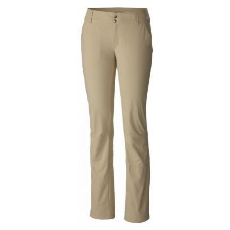 Columbia SATURDAY TRAIL PANT béžová - Dámské outdoorové kalhoty