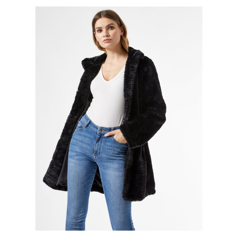 Dámský kabát Dorothy Perkins Fur detailed
