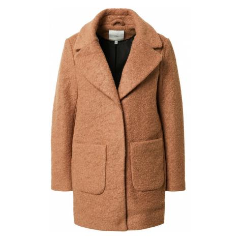ICHI Přechodný kabát hnědá