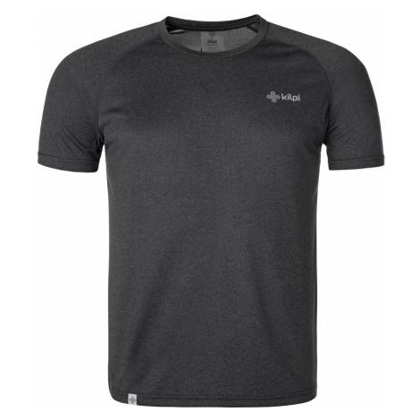 Pánské běžečké tričko KILPI DIMEL-M tmavě šedá