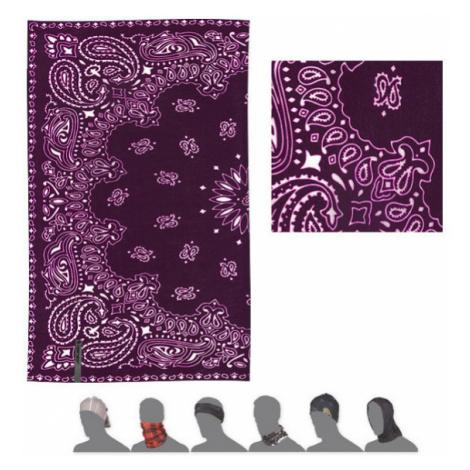 ORNAMENT Multifunkční šátek 18200082 fialová UNI