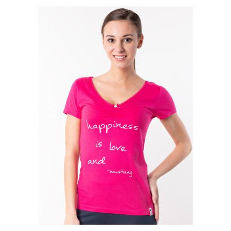 Dámské tričko Mustang 6150210 RůžováP
