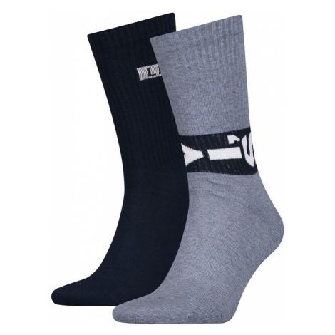 2PACK ponožky Levis vícebarevné (993048001 056) Levi´s