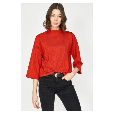 Koton Women's Red T-Shirt