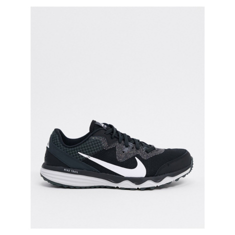 Nike Running Juniper Trail trainers in black