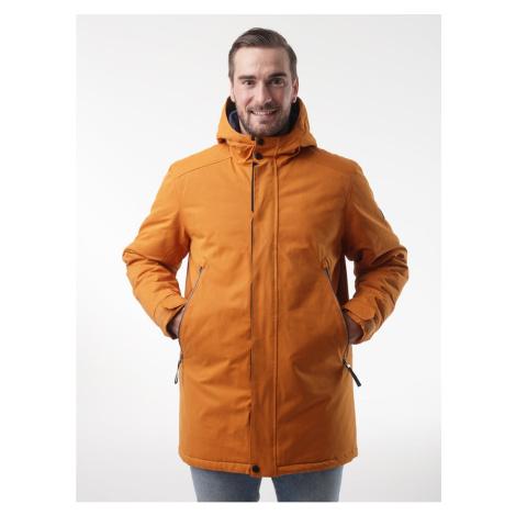 NAKIO pánský zimní kabát žlutá LOAP