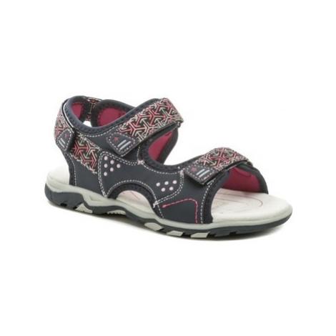 Wojtylko 5S2720 modro růžové dívčí sandálky Modrá