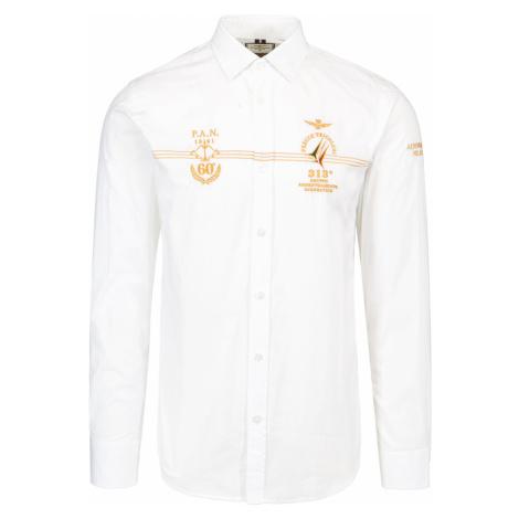 Košile AERONAUTICA MILITARE bílá