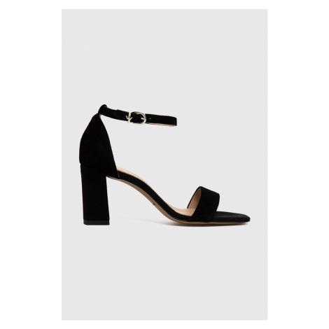 Wojas - Semišové sandály