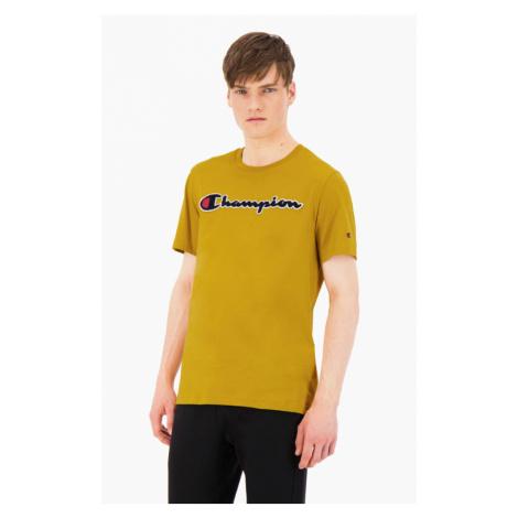 Pánské triko Champion 213521 hořčicová | žlutá