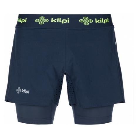 Kilpi Pánské běžecké kalhoty Irazu tmavě modrá
