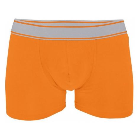 Pánské boxerky Kariban - Oranžová