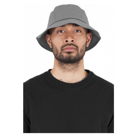 Flexfit Cotton Twill Bucket Hat - grey Urban Classics