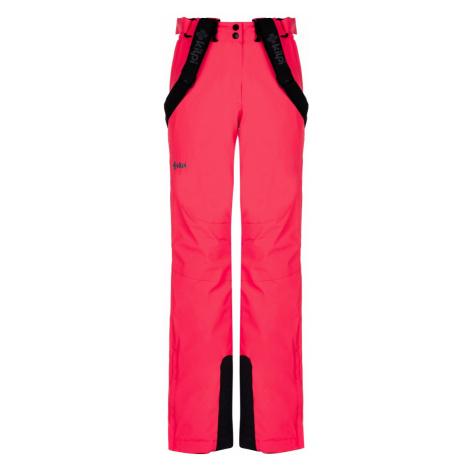 Dámské zimní lyžařské kalhoty KILPI ELARE-W růžová