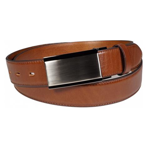 Pánský kožený opasek Penny Belts Antonio hnědý
