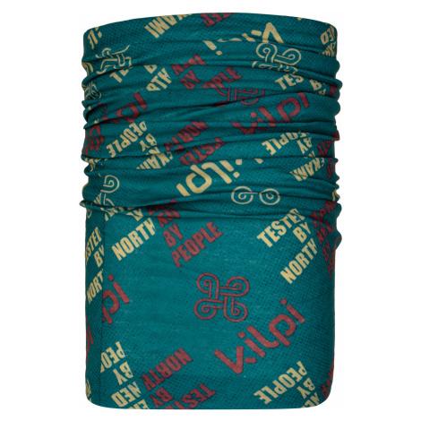 KILPI Multifunkční šátek DARLIN-U NU0026KITRQ Tyrkysová UNI