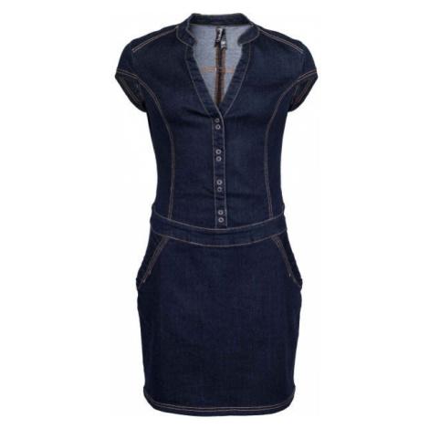 Willard WILOW tmavě modrá - Dámské džínové šaty