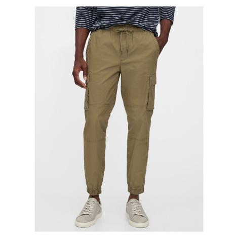 GAP khaki pánské kalhoty Cargo Joggers