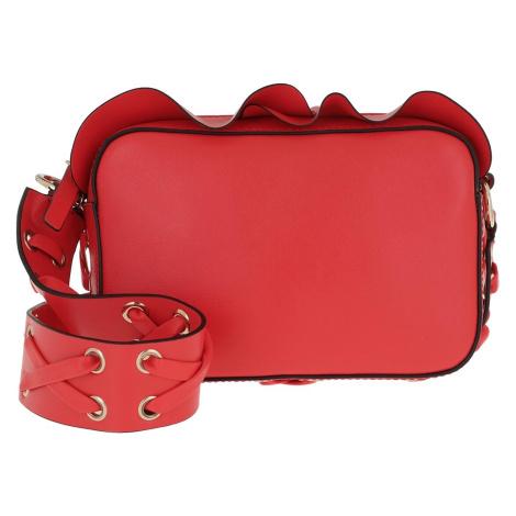 Červená kožená kabelka - RED VALENTINO