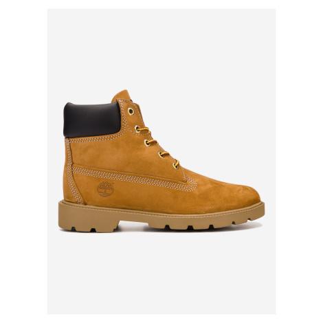 Kotníková obuv dětská Timberland Hnědá