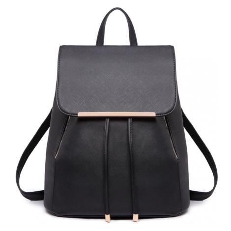 Černý elegantní batoh
