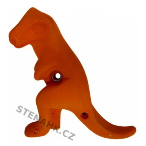 Makak dětský chyt TYRANOSAURUS XL, oranžová