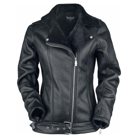 Black Premium by EMP Last Argument Dámská bunda - imitace kůže černá
