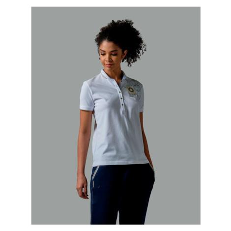 Polokošile La Martina Woman Polo Short Sleeves Pique - Bílá