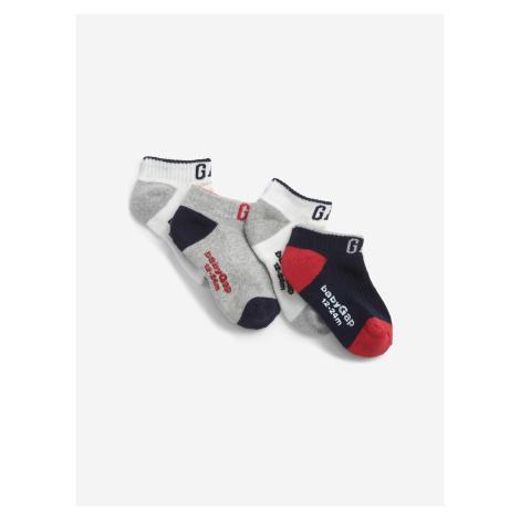 Ponožky 4 páry dětské GAP Barevná