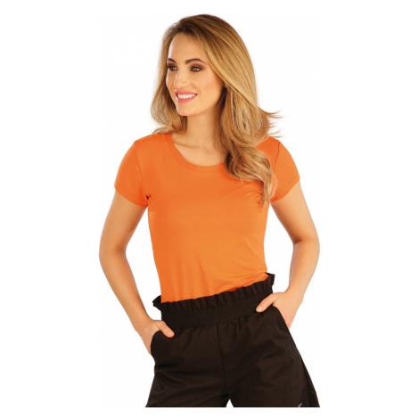 LITEX Tričko dámské s krátkým rukávem 5A167200 reflexně oranžová