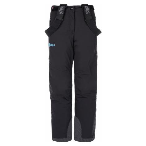 Dětské lyžařské kalhoty TEAM PANTS-J černá Kilpi