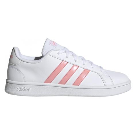 Dámská obuv adidas Grand Court Base Bílá / Růžová