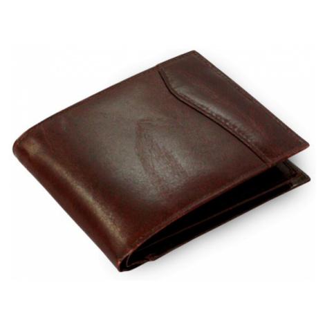 Tmavě hnědá pánská kožená peněženka Kevin Arwel