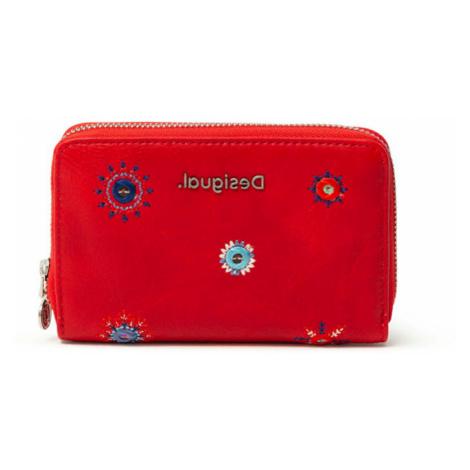 Desigual červená malá peněženka Mone July Denim Marisa
