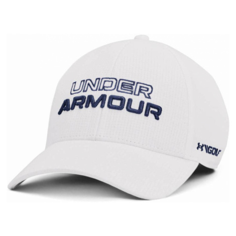 Under Armour Jordan Spieth Tour Hat Pánská golfová kšiltovka 1361545-100 White