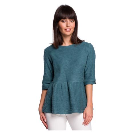 BeWear Woman's Blouse B109 Turquoise