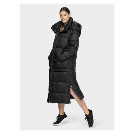 Dámský péřový kabát s odnímatelnou dolní stranou 4F