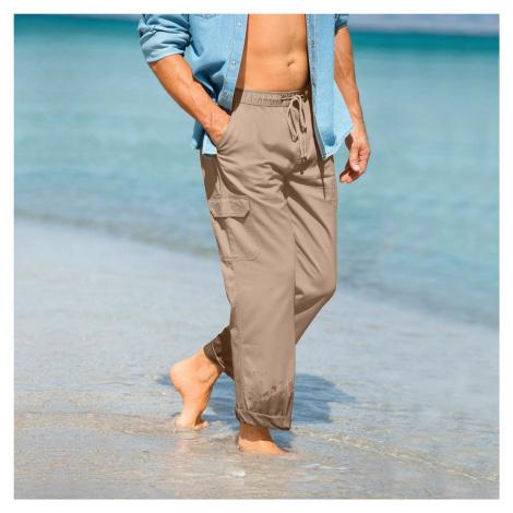 Blancheporte Kalhoty pro volný čas béžová
