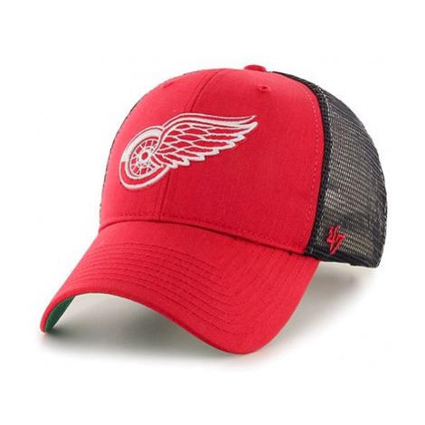 Kšiltovka 47 Brand Trucker Branson MVP NHL Detroit Red Wings Red/Black