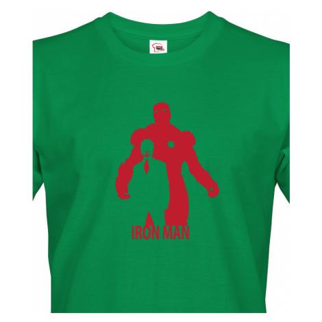 Pánské tričko s motivem IRON MANA - skvělý dárek pro fanoušky Marvel BezvaTriko