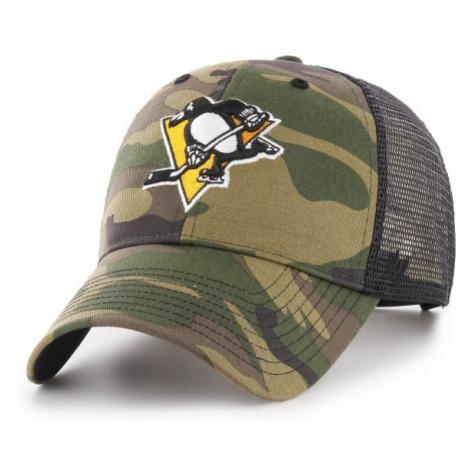 47 NHL PITTSBURGH PENGUINS CAMO BRANSON 47 MVP zelená - Kšiltovka