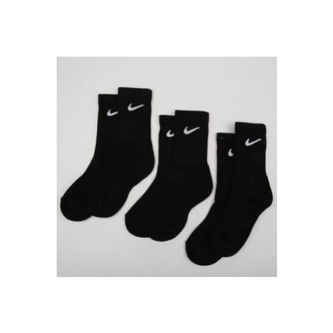 Nike U NK Everyday Cush Crew 3 Pack černé