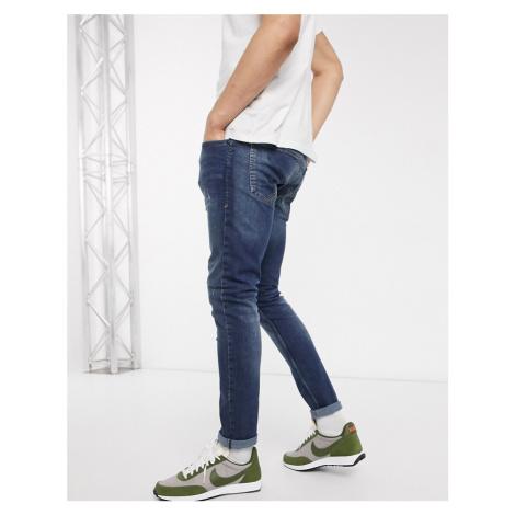 Tom Tailor Culver skinny jeans in dark blue