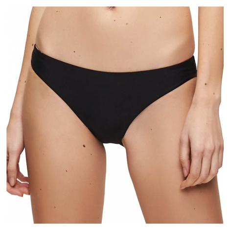 Calvin Klein dámské plavky 952 spodní díl černé - Černá