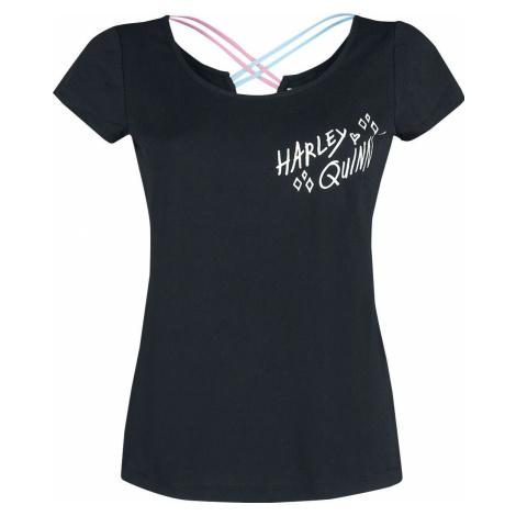 Birds Of Prey Harley Quinn Dámské tričko černá