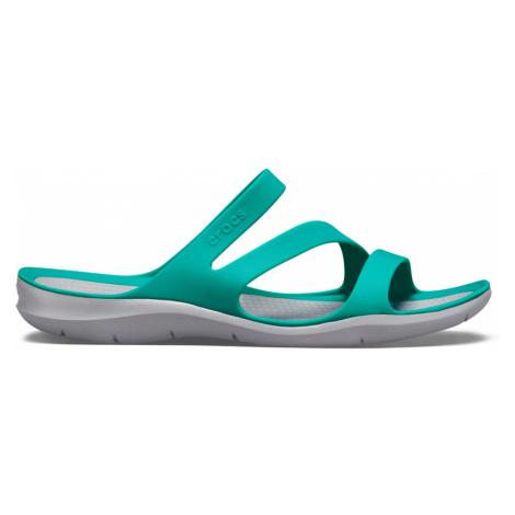 Crocs Swiftwater Sandal W Tropical Teal/Light Grey W7