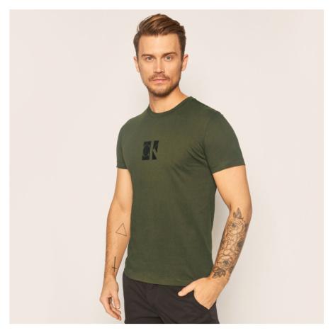 Calvin Klein pánské zelené triko