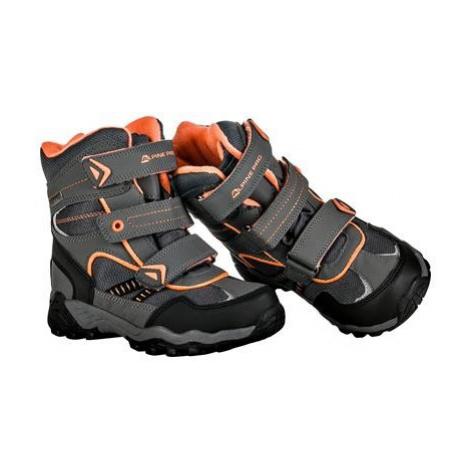 Dětská zimní obuv Alpine Pro HAYLEY - šedá